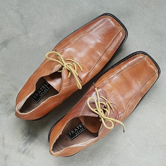 footwear new product big discount Fratelli Genuine Leather Lace up Loafers